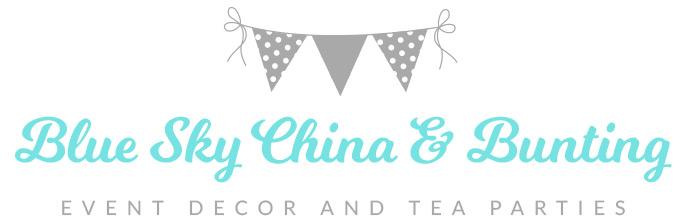Blue Sky China and Bunting logo image